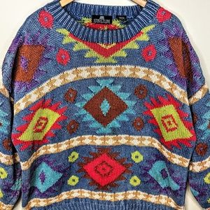 Structure Sweaters - Structure Vintage Navajo Sweater